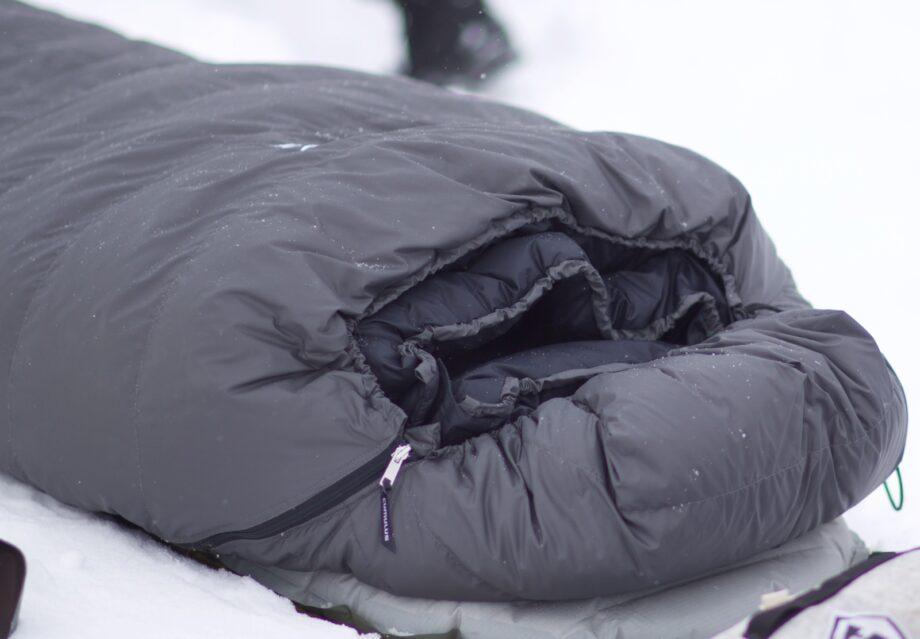 Winterschlafsack der Extraklasse von Cumulus