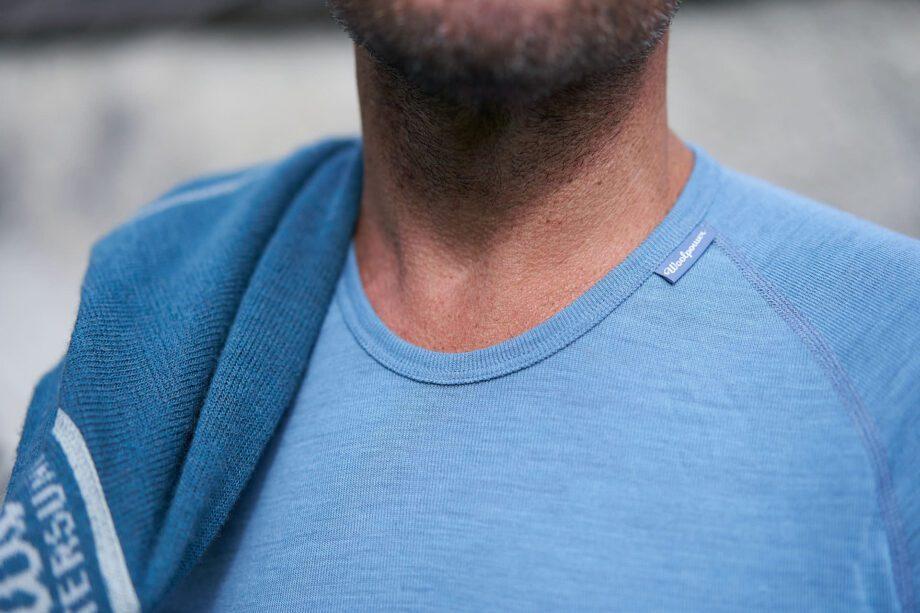 Langarmshirt, fair hergestellt von Woolpower hier bei verybestof.ch, Ausrüstung für Nomaden