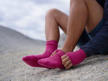 Bunte Socke von Woolpower