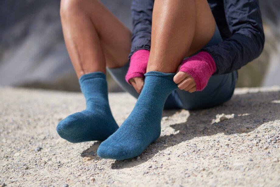 Warme Socken, fair hergestellt von Woolpower hier bei verybestof.ch, Ausrüstung für Nomaden