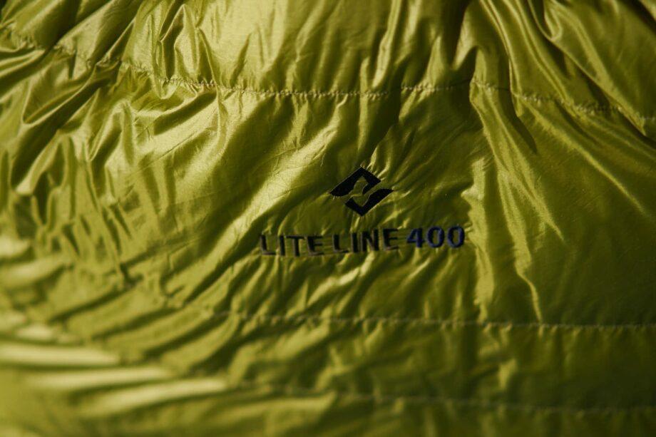Daunenschlafsack aus Pertex - Lite line 400 von Cumulus in gruen