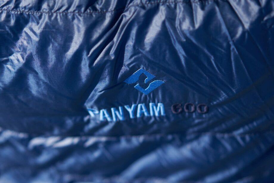 Cumulus Panyam 600 - Daunenschlafsack aus pertex in sailor blue - sonderfarbe